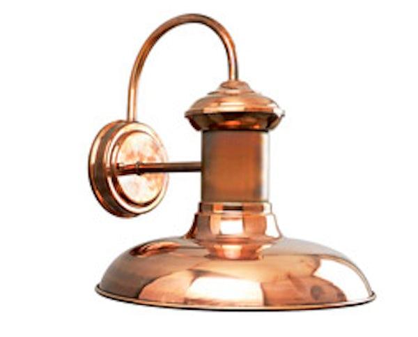 Solid Copper, Progress Brookside, Outdoor Wall Lantern