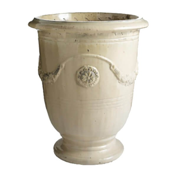 Anduze Ceramic Hand Glazed Planter (sand)