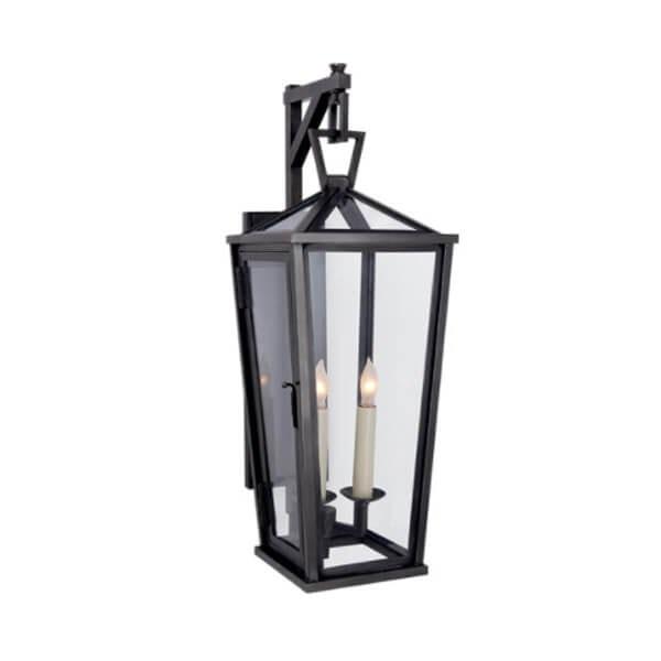 Darlana 2-light Hanging Wall Lantern