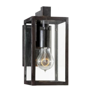 Fresno Framed Sconce - 11in - Aged Iron