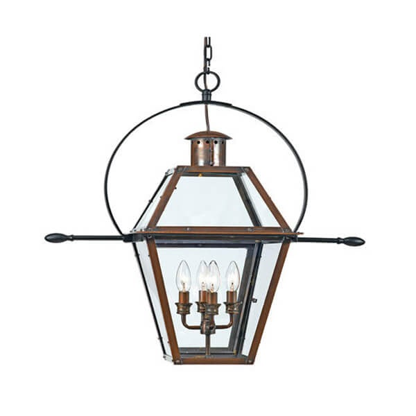 Quoizel Rue De Royal Outdoor Chandelier