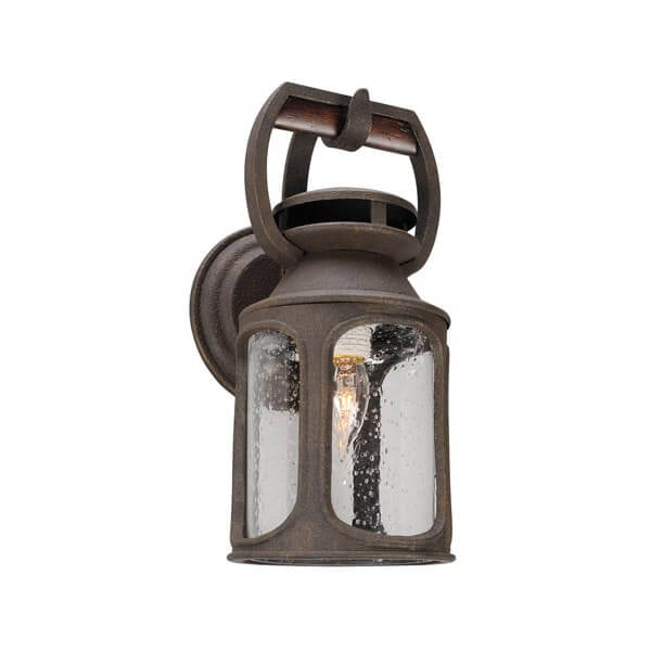 Troy Old Trail 14 in Hanging Wall Lantern
