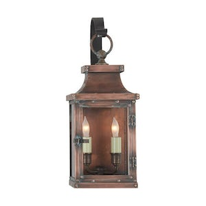Visual Comfort E.F Chapman 17 in Bedford Hanging Wall Lantern