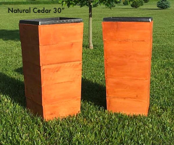 "Cedar Natural 30"""