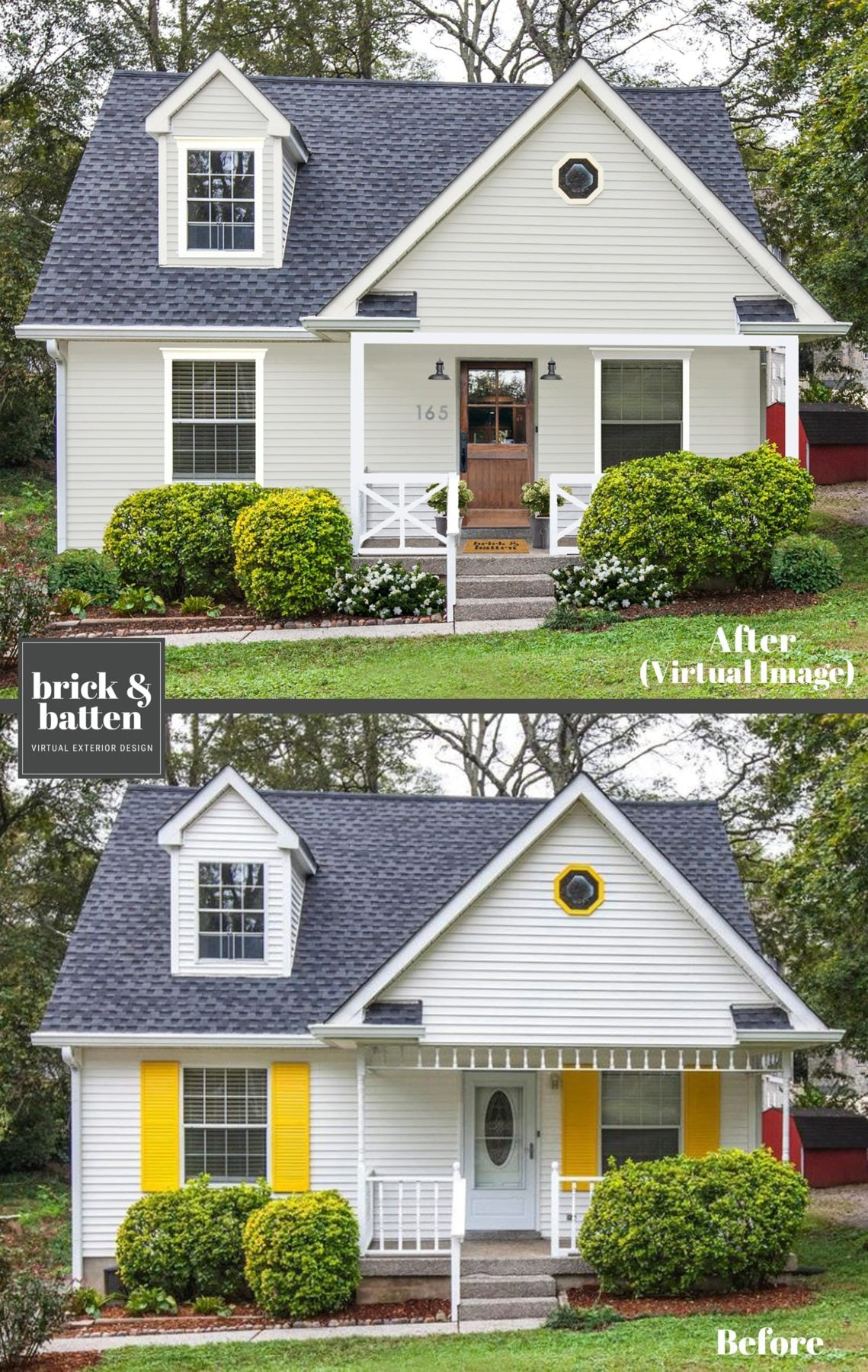 Nashville charmer before and after