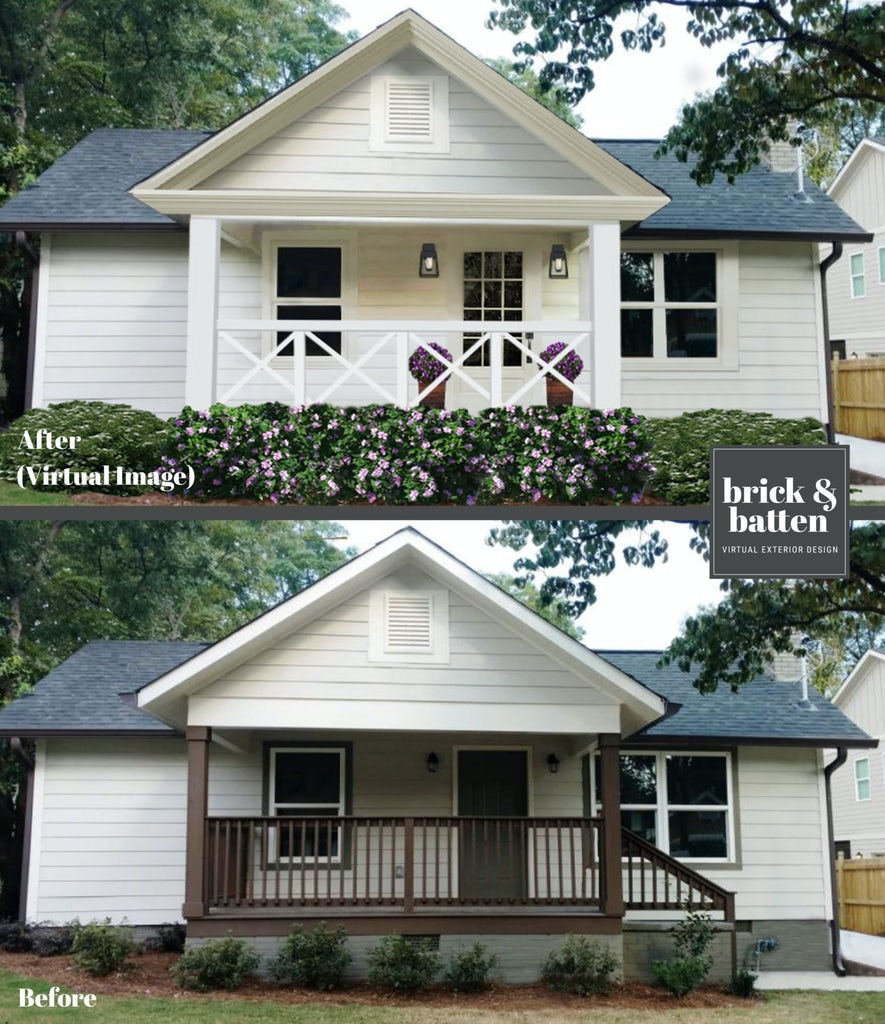 Simple changes for exterior makeover