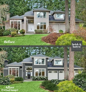 brick&batten before and after