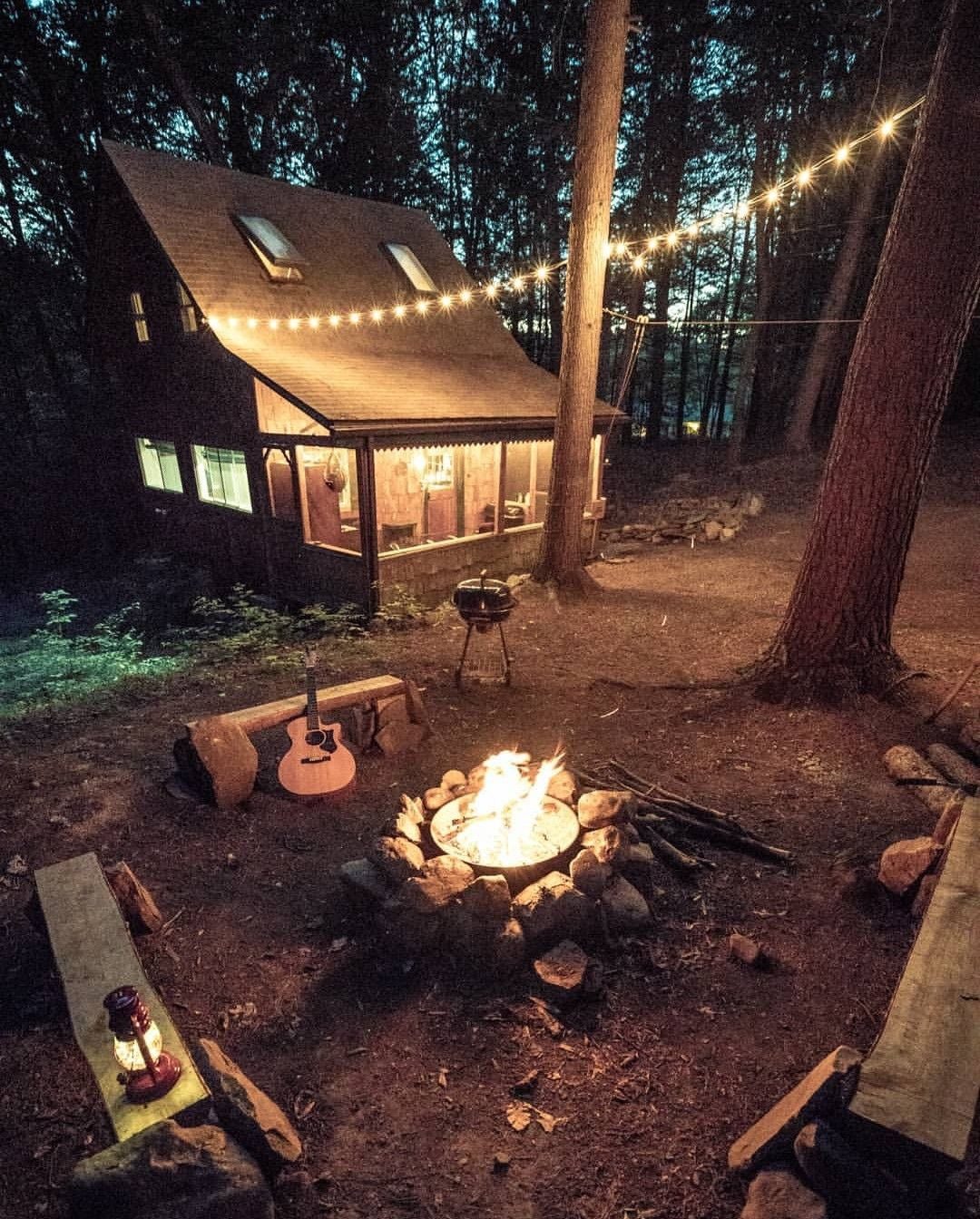 one with nature fire pit idea