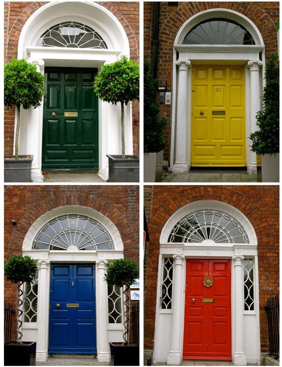 same door different color