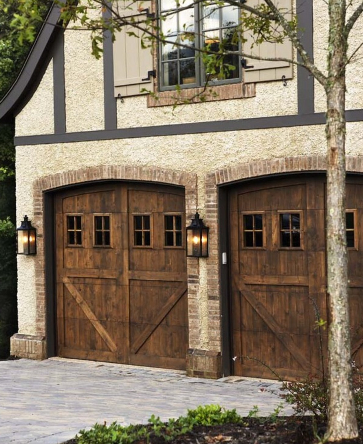 tudor carriage doors