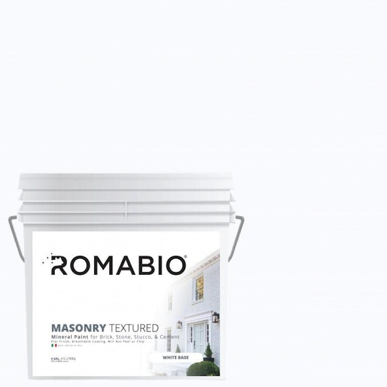Romabio textured paint for brick