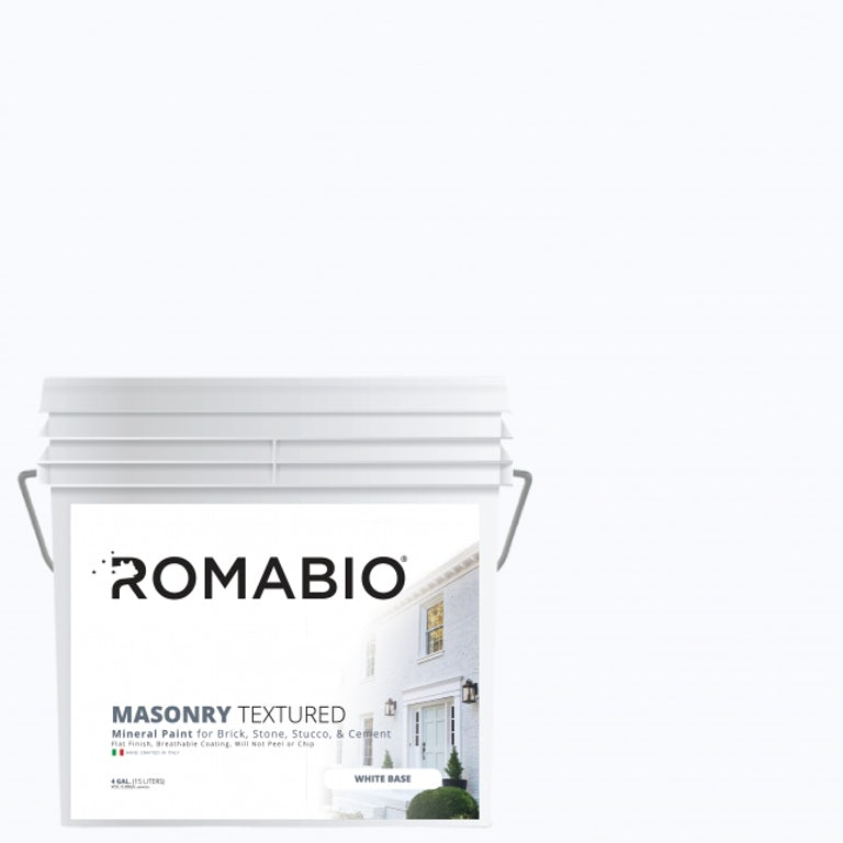 Romabio textured paint for brick
