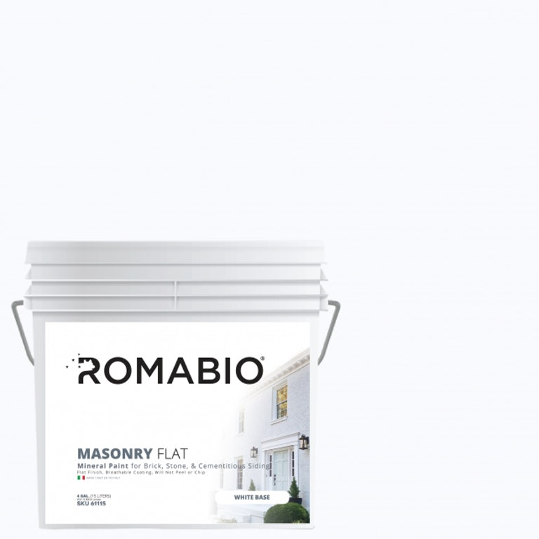 masonry flat paint for brick