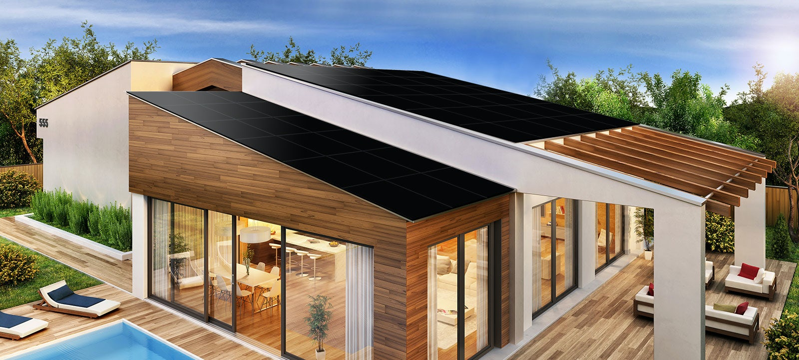 solar power roof