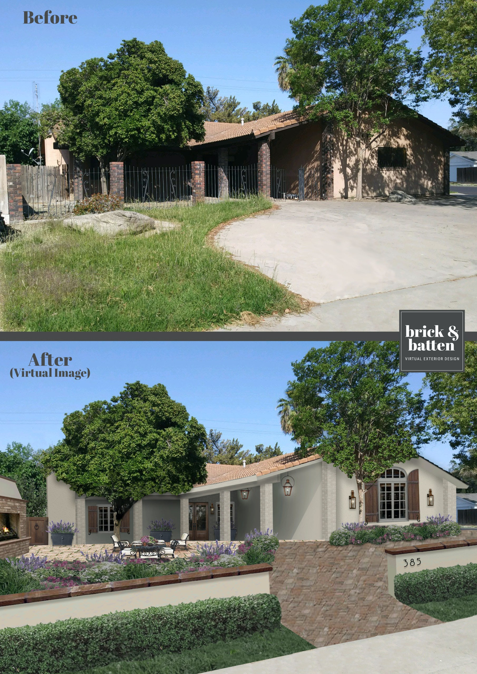 house before&after