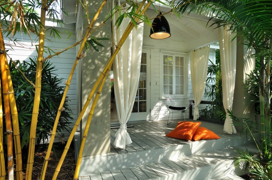 porch curtains