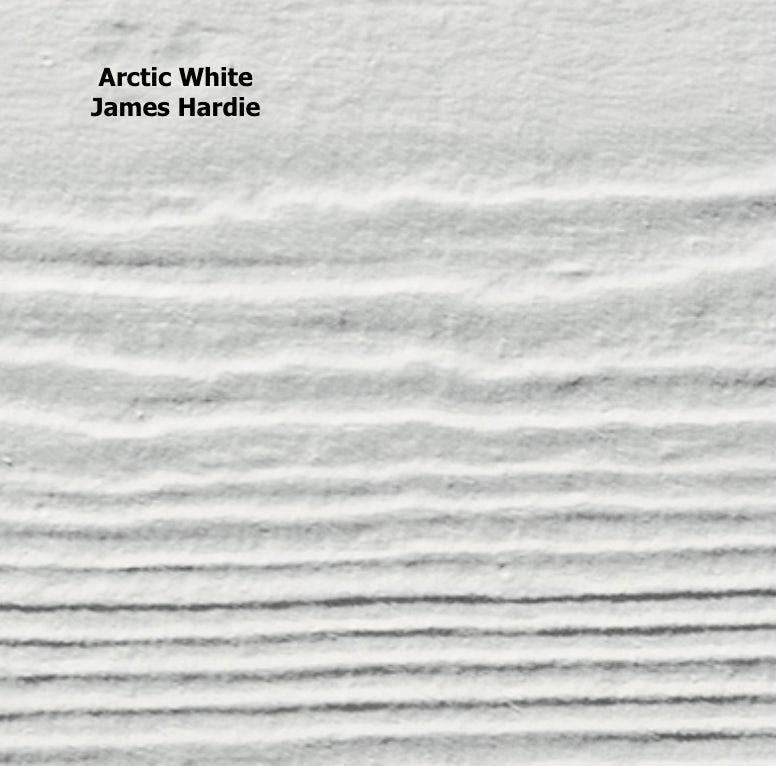 Arctic White James Hardie