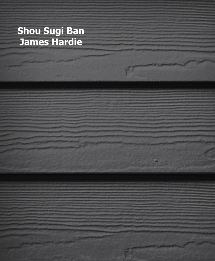 James Hardie Shou Sugi Ban