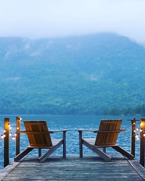 Adirondack lake view