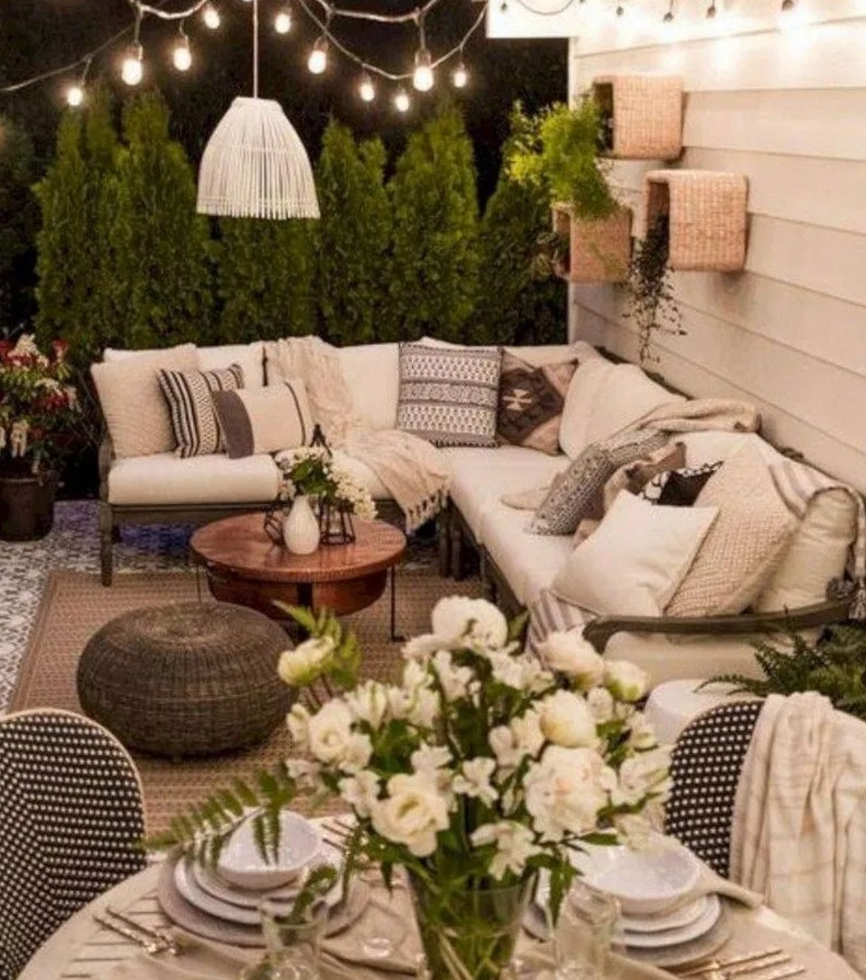 Comfortable porch