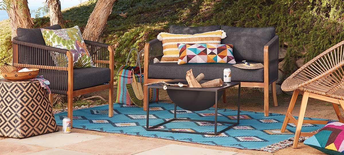 Desert World Market Sofa Set