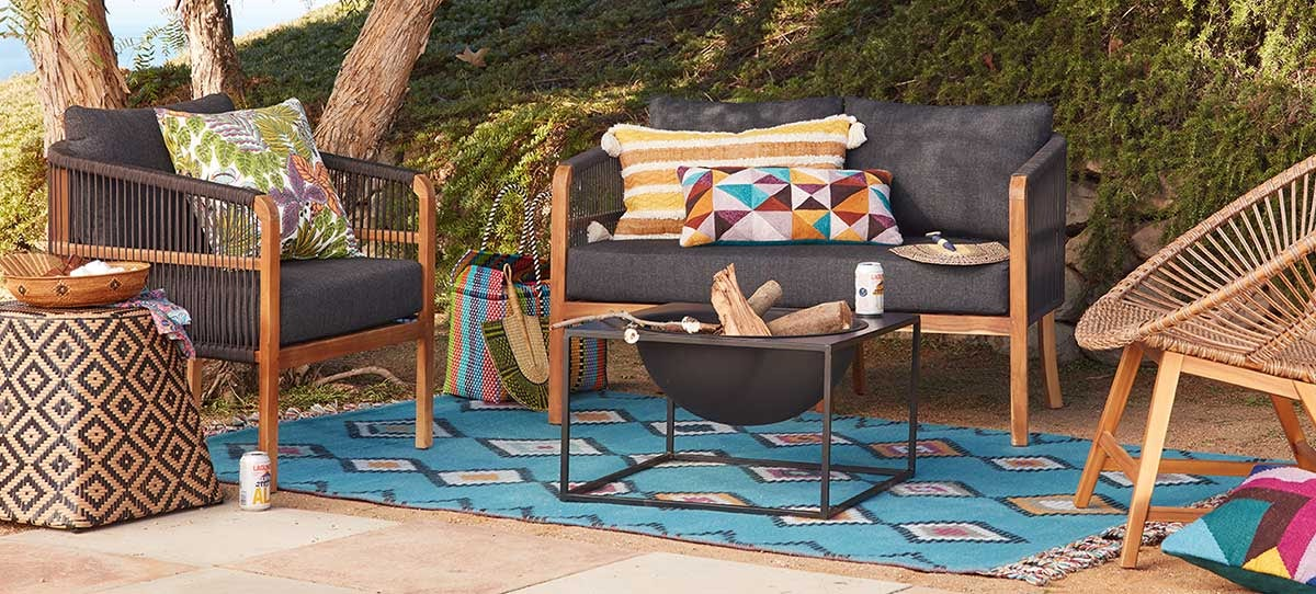 Desert World Market Sofa Set