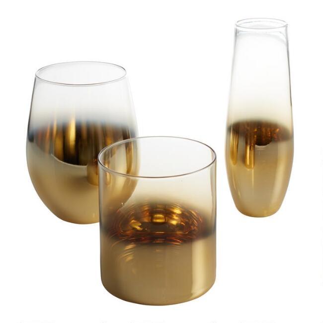 Ombre Glassware