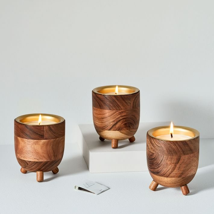 Rewined Barrel Candles