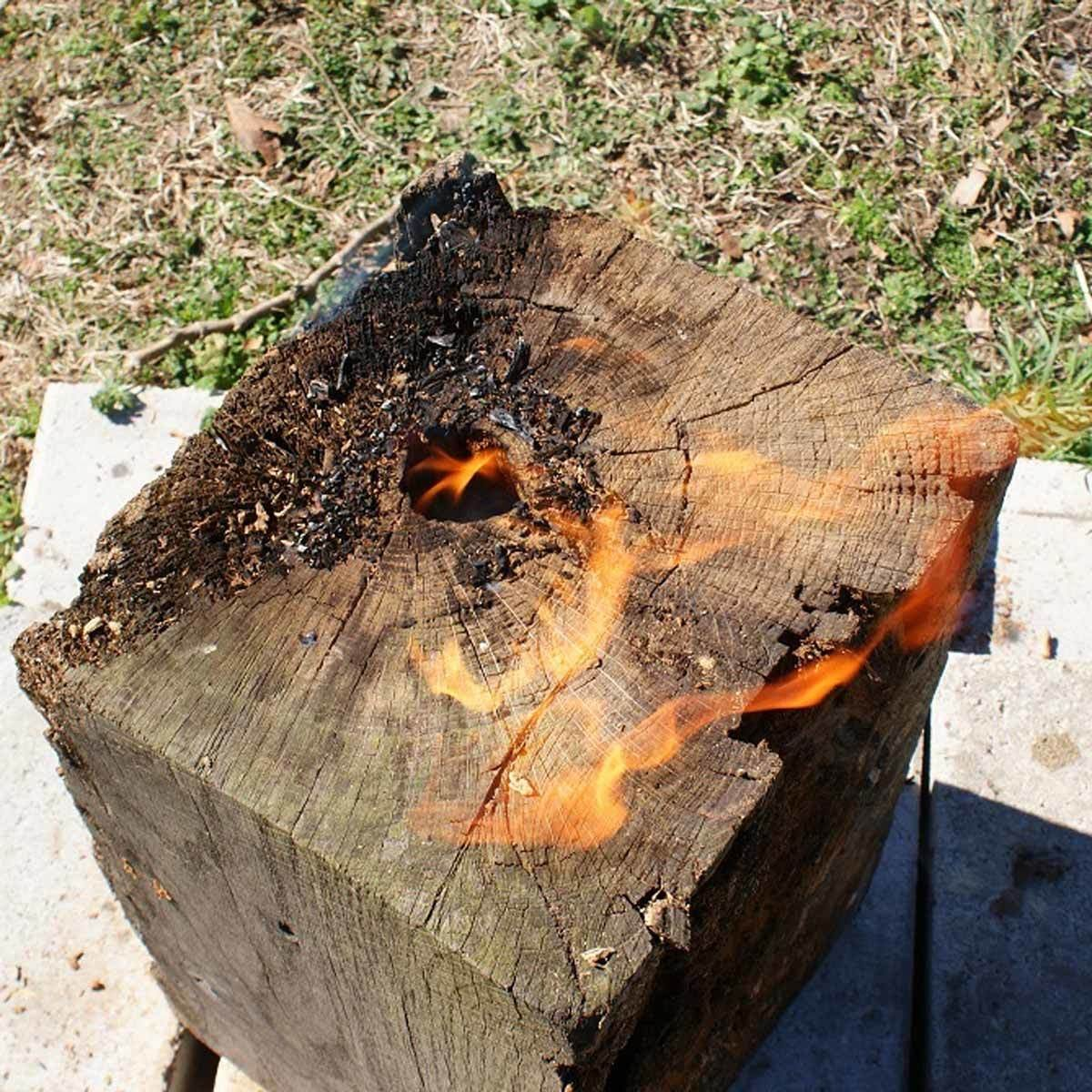 Alternative to fire pit