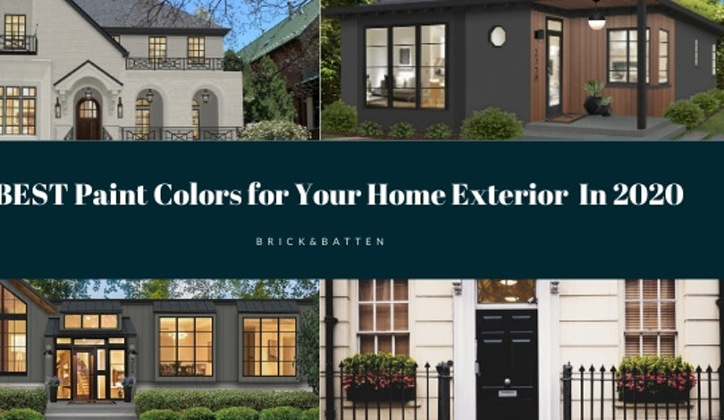 16 Best Paint Colors For Your Home S Exterior In 2020 Blog Brick Batten,Multiple Tablet Charging Station