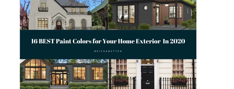 16 Best Paint Colors For Your Home S Exterior In 2020 Blog Brick Batten,How To Make A Bed In Minecraft Education