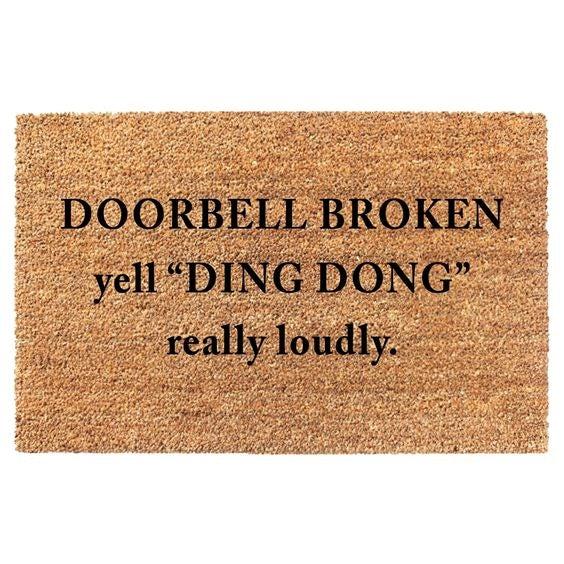 Ding Dong mat