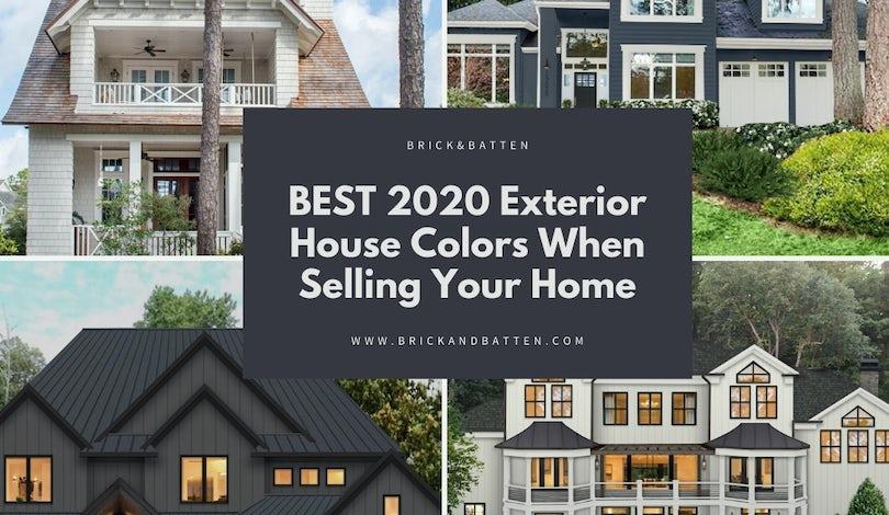 Best 2020 Exterior House Colors When