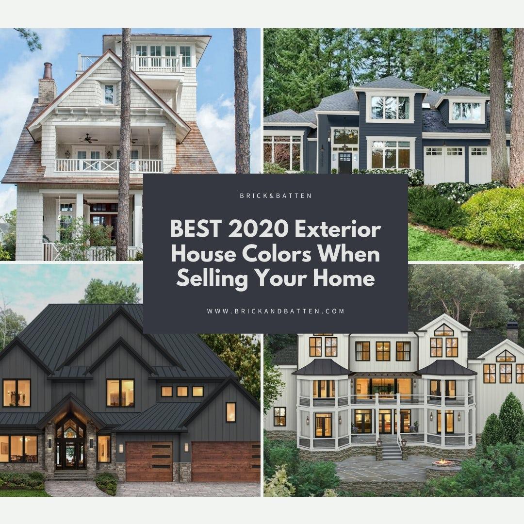 Best 20 Exterior House Colors When Selling   Blog   brick&batten