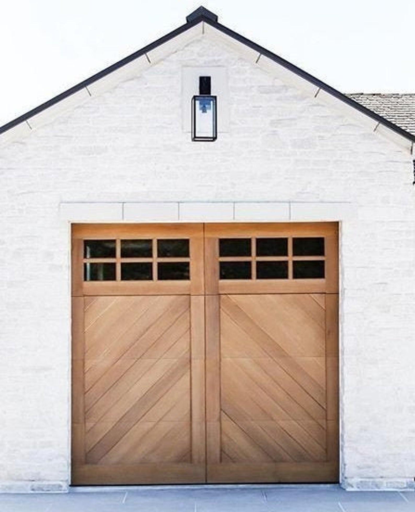 Spanish Garage Door