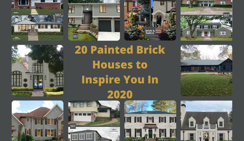 painted brick houses