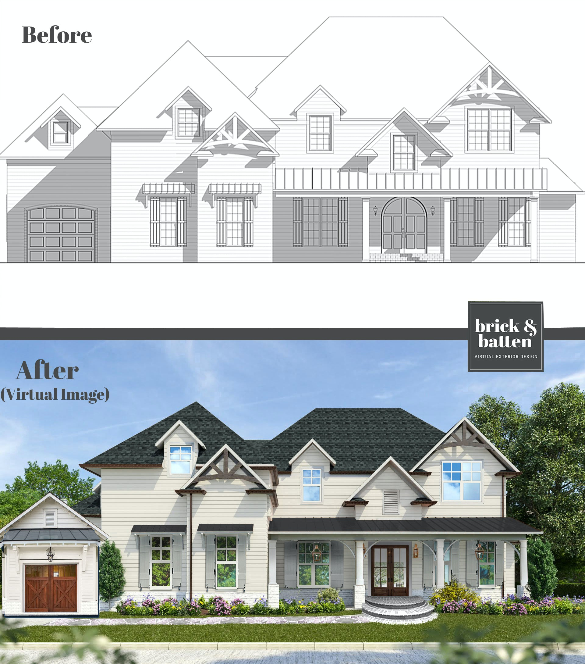 ultra realistic home renderings and design service