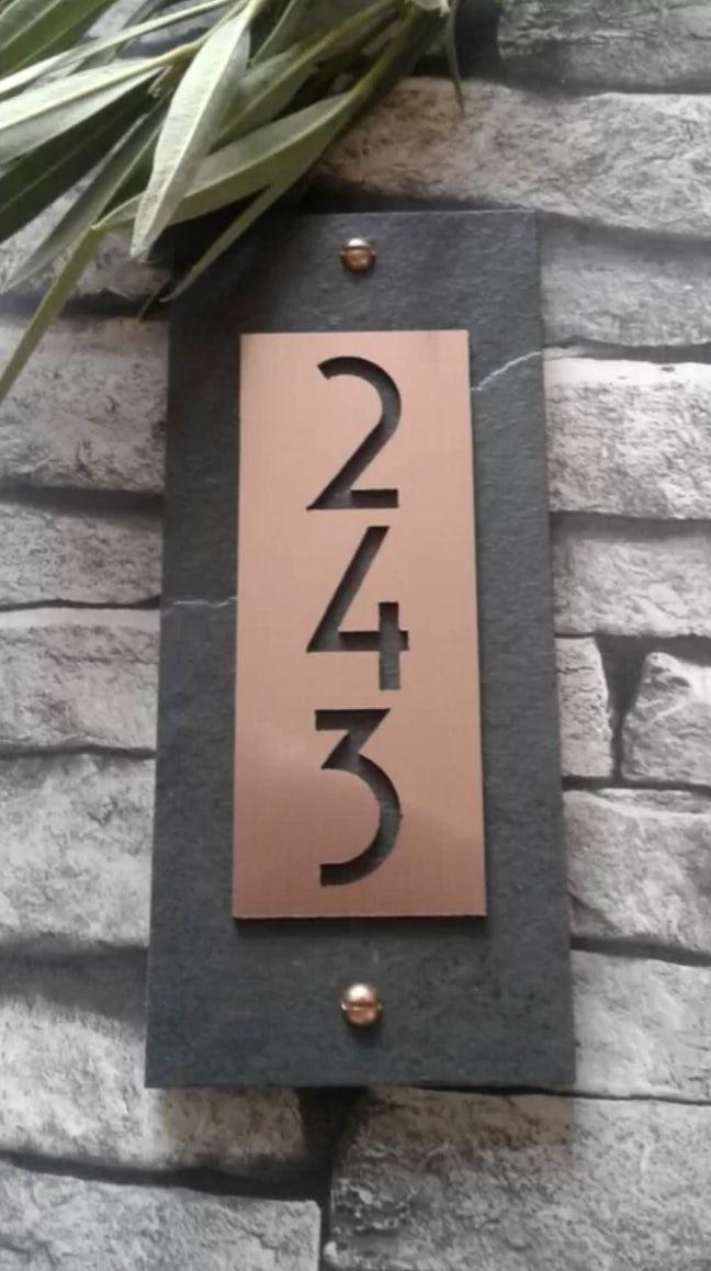 address number of plaque