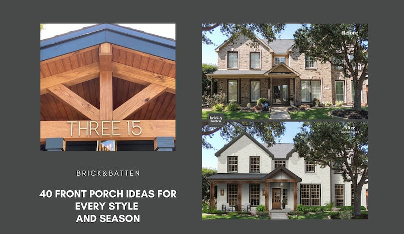 40 Porch Ideas for Every Style and Season