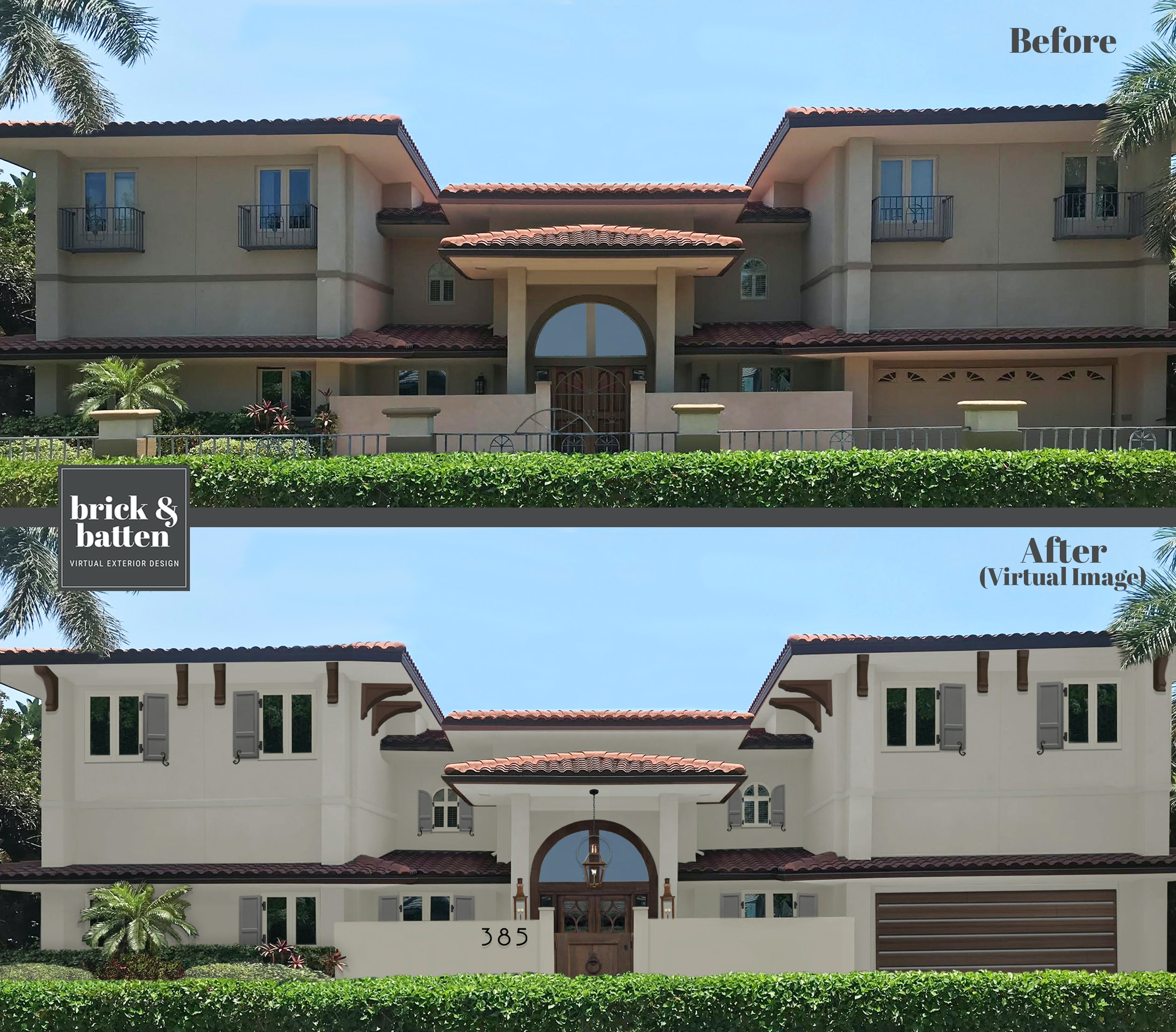 Shutter Styles - Arched Shutters