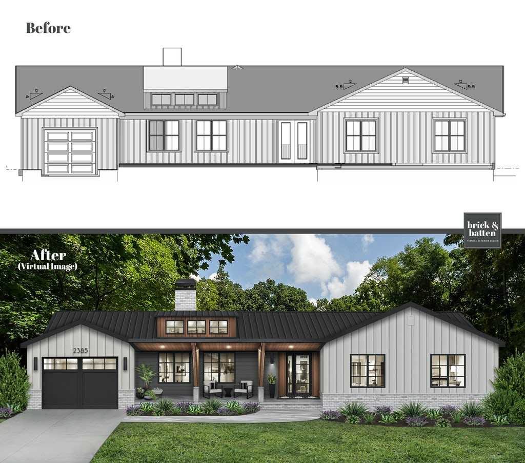 Turn your home blue prints into a visual design