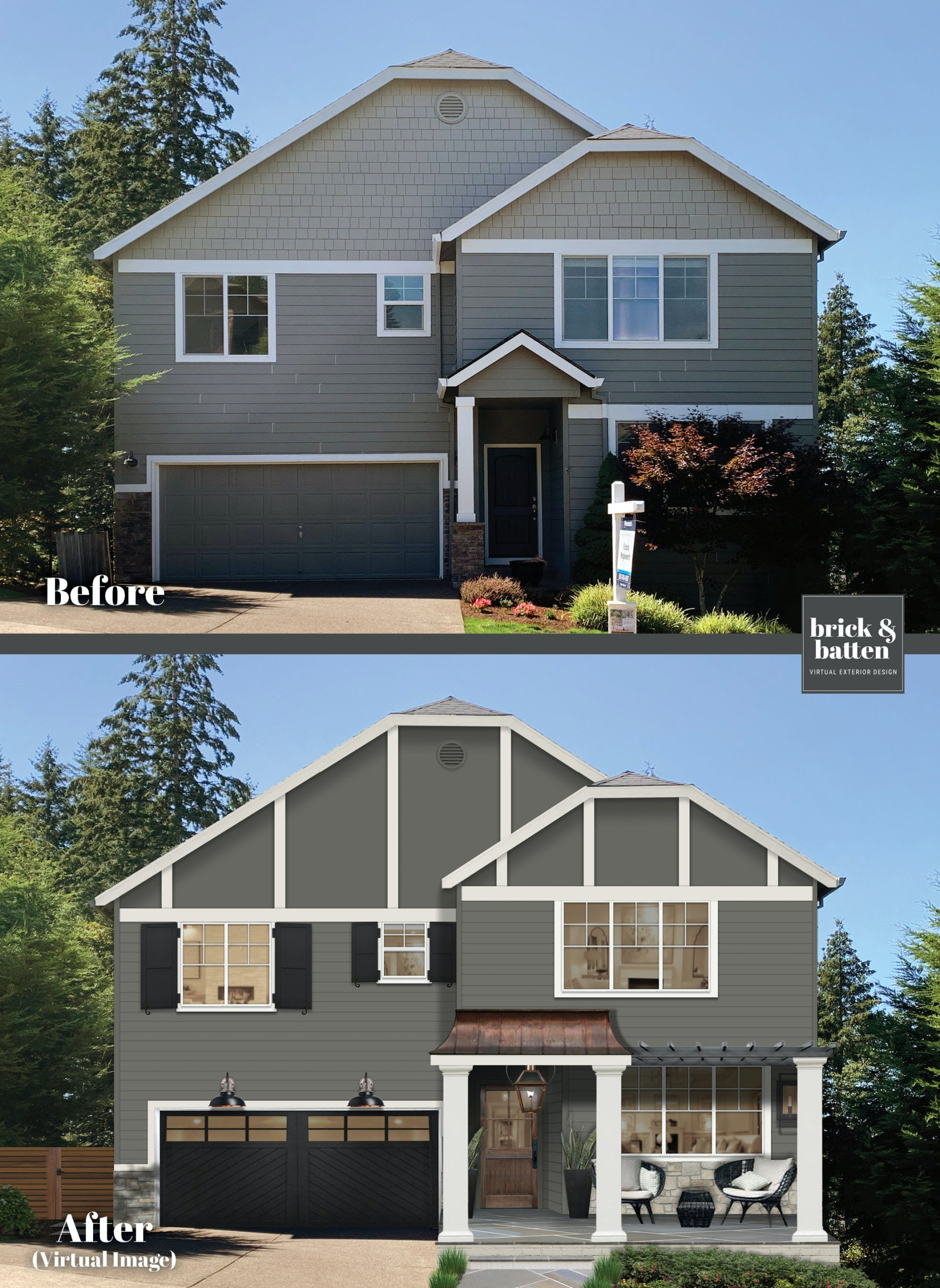 dutch colonial home before and after