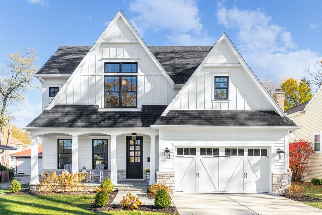 direct natural light white home