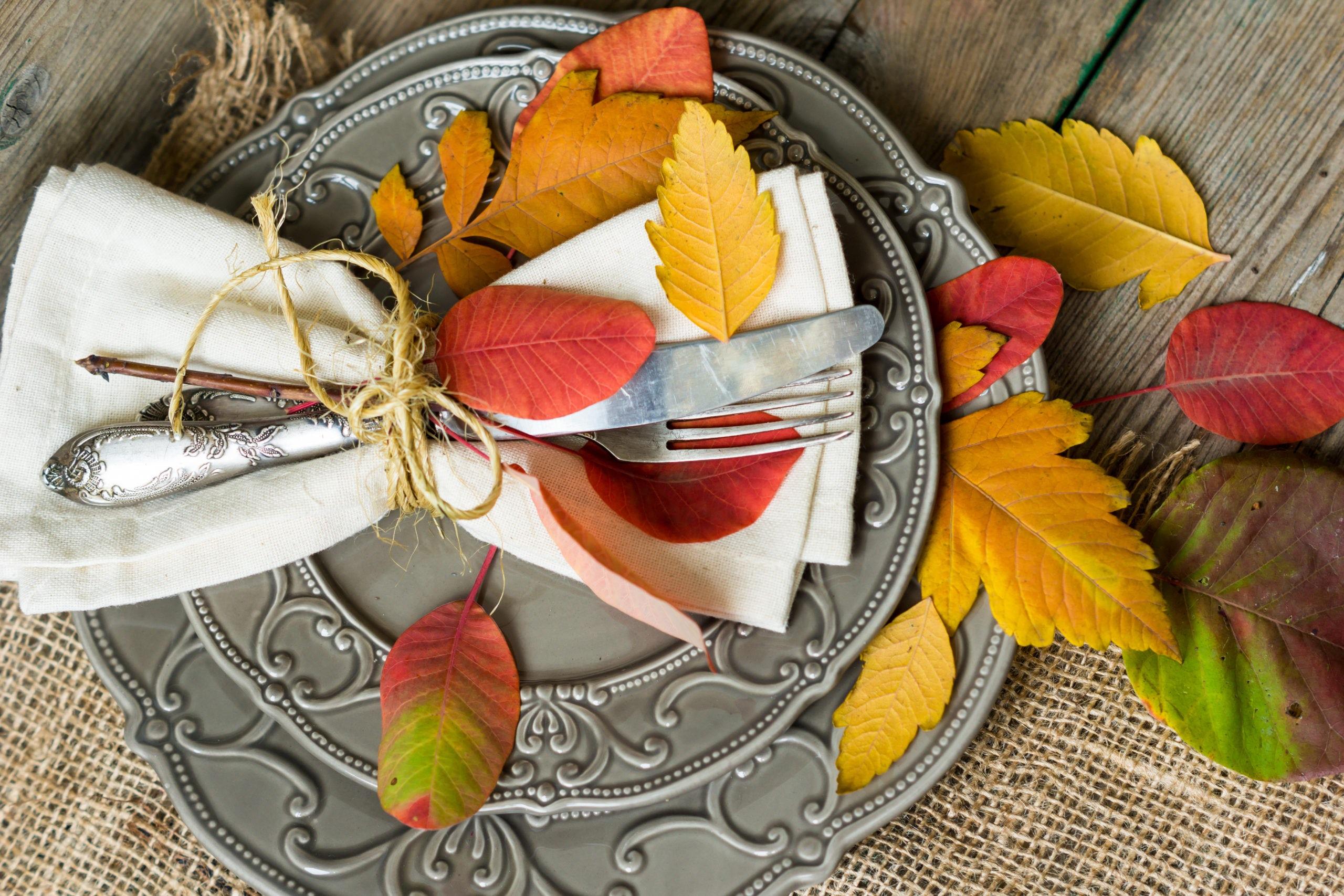 Thanksgiving napkin ring ideas