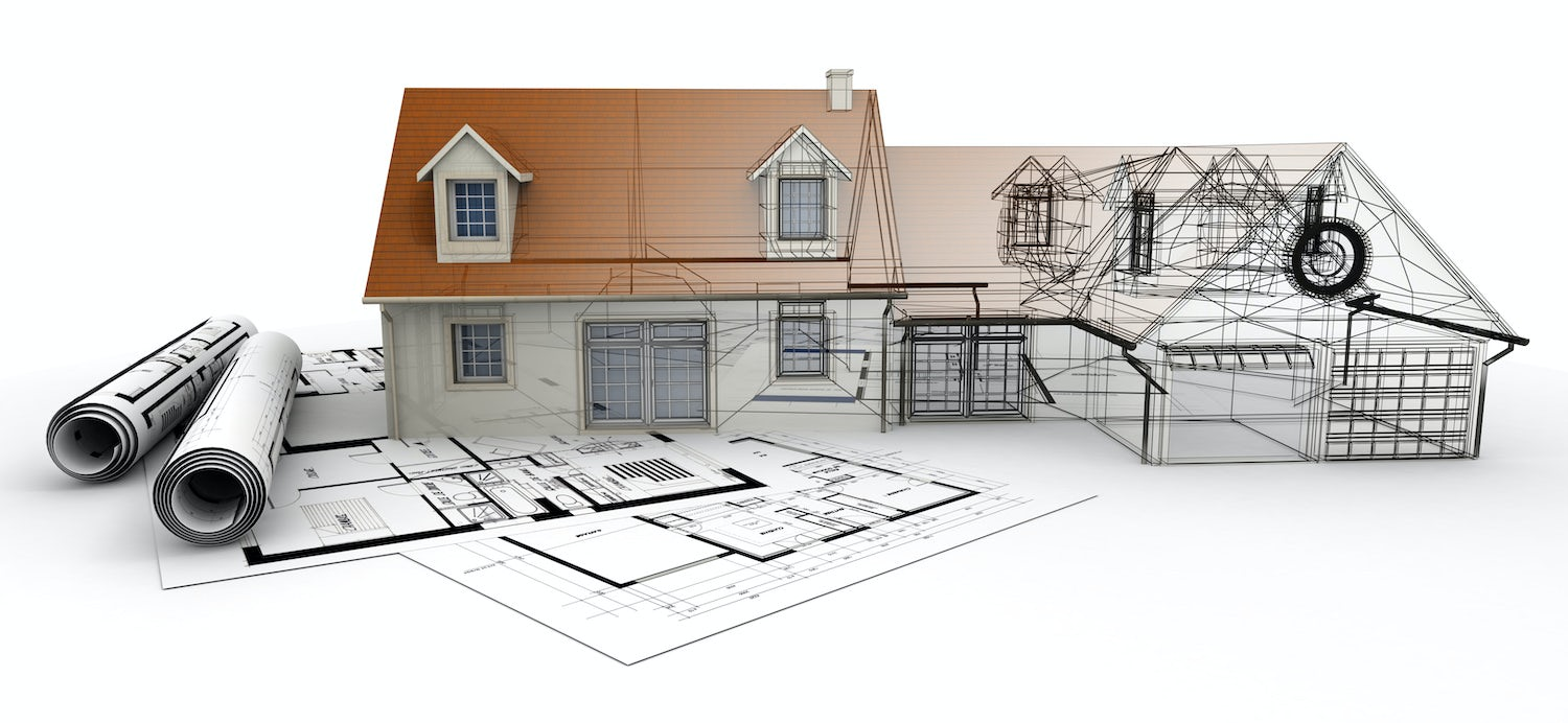 A Blueprint Rendering by The House Designers
