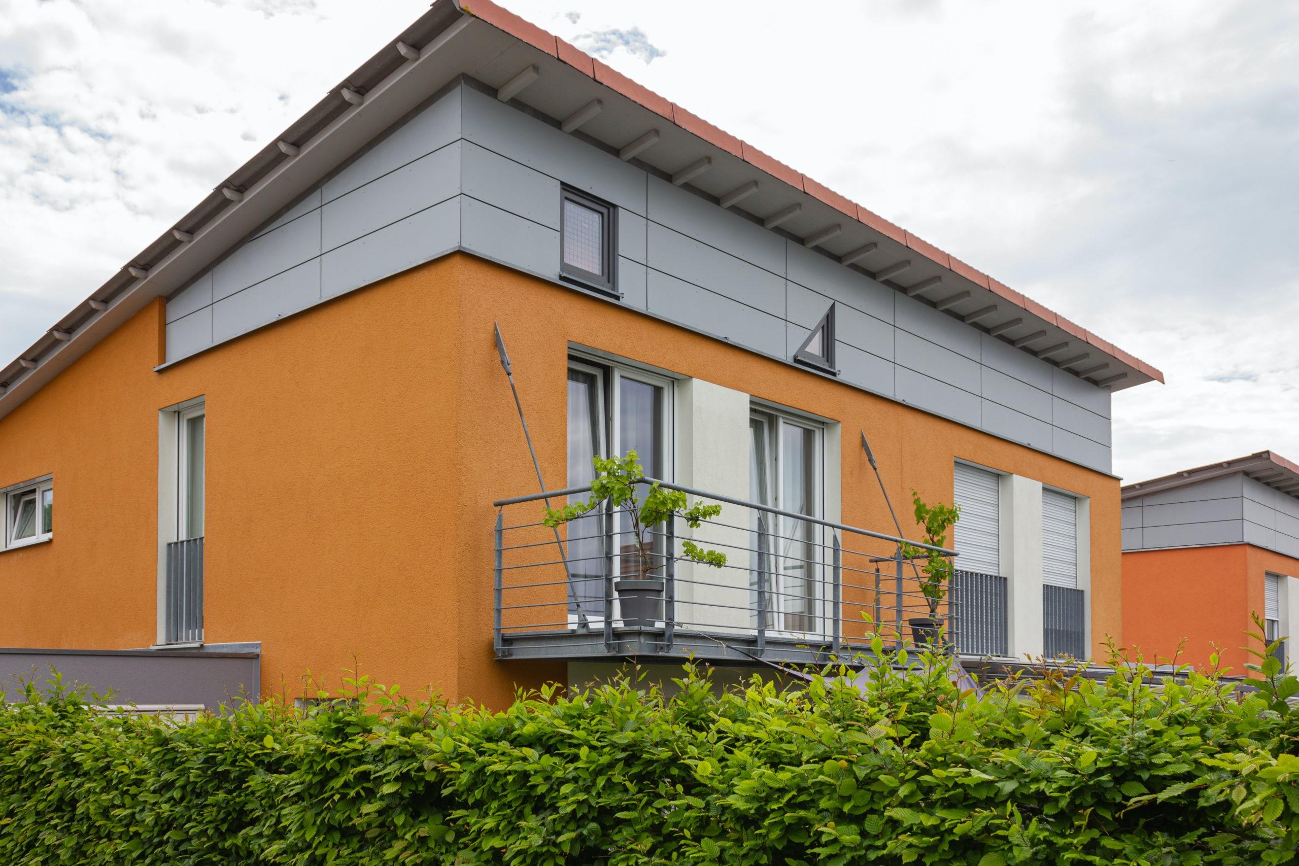 mid century modern roofline