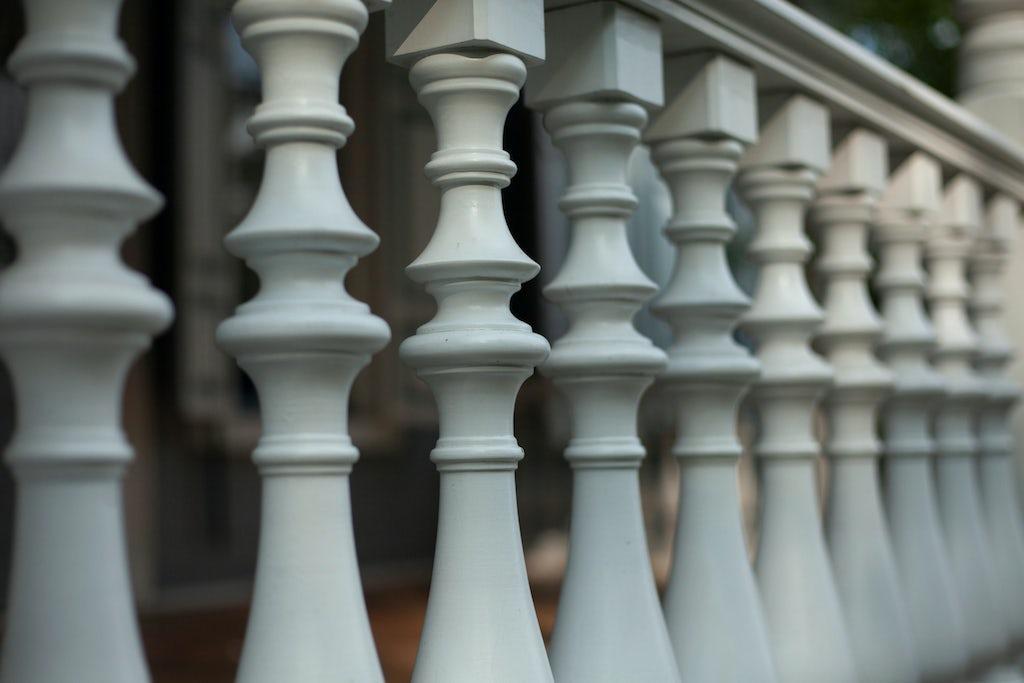 Sawn baluster railings