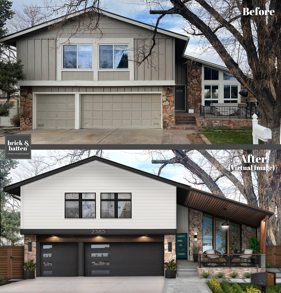 16 Stunning Porch Awning Ideas With Before After Photos Brick Batten