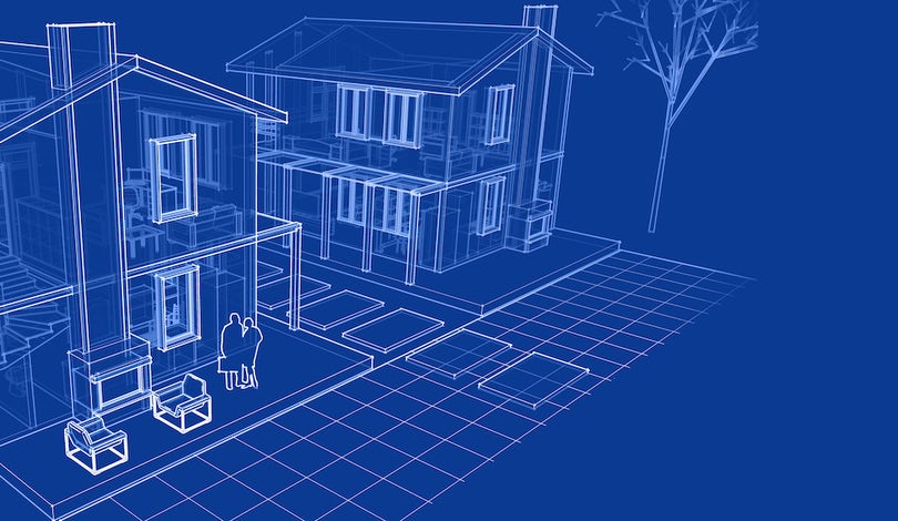 10 Ways To Get Free Or Affordable Blueprints For Your New Home Brick Batten