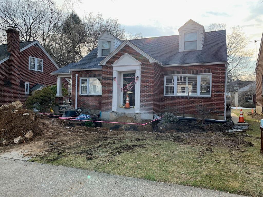 Marybeth Lavery home renovation process #1